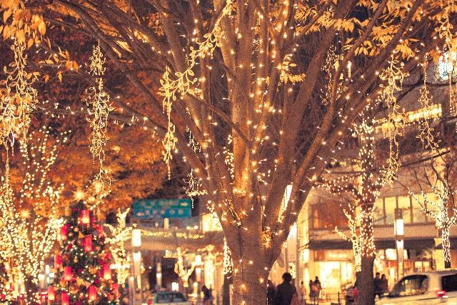 クリスマスイルミネーション2015 東京人気ランキング!クリスマスデートにおすすめはココ!