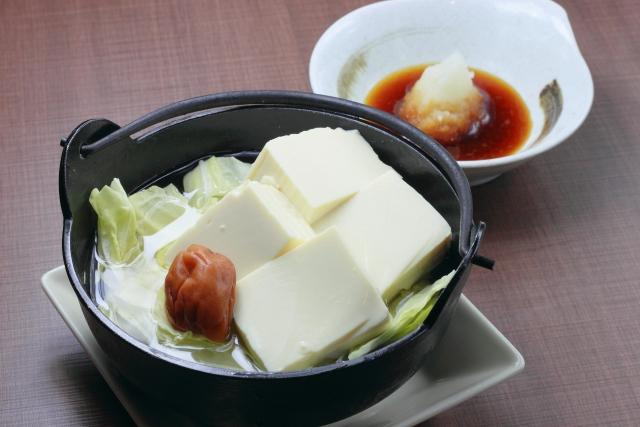 湯豆腐のカロリーは?湯豆腐ダイエットは効果ある?